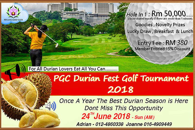 Durian Fest Golf Tournament