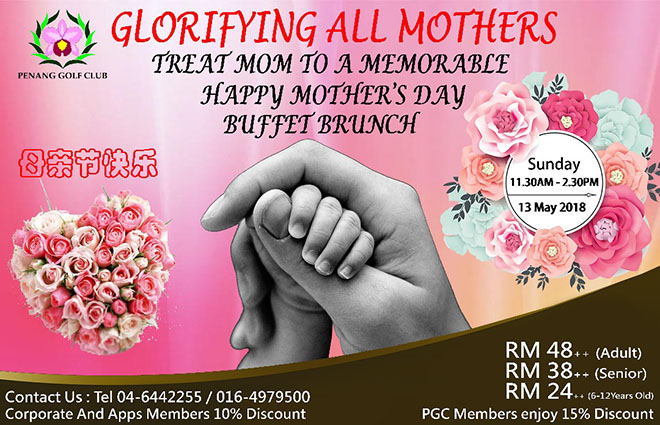 Mothers Day Lunch Buffet
