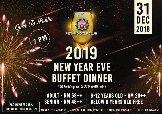 New Year Eve Buffet